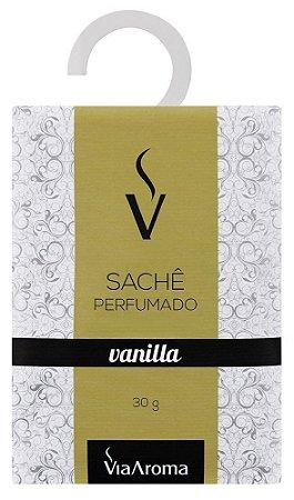 Via Aroma Sachê Perfumado Vanilla 30g