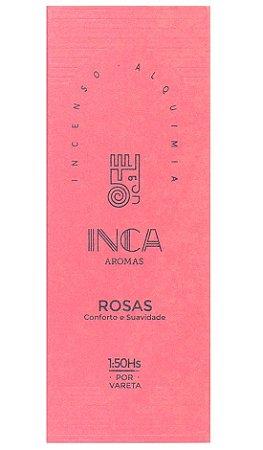 Inca Incenso Natural Rosas