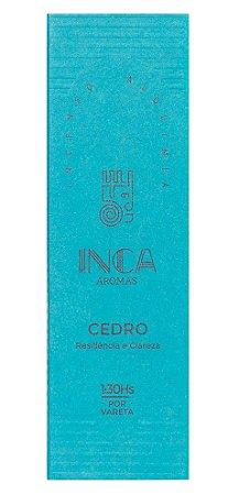 Inca Incenso Natural Cedro