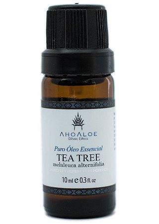 AhoAloe Óleo Essencial de Tea Tree Orgânico 10ml