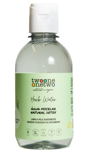 Twoone Onetwo Água Micelar Natural Detox 250g