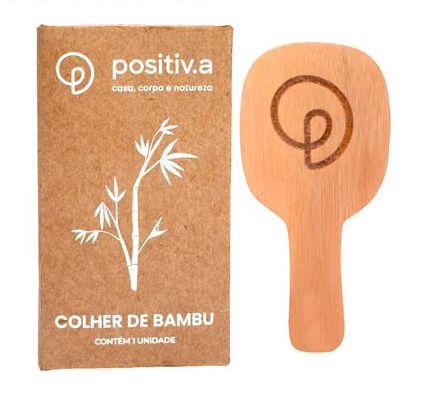 Positiv.a Colher de Bambu 1un