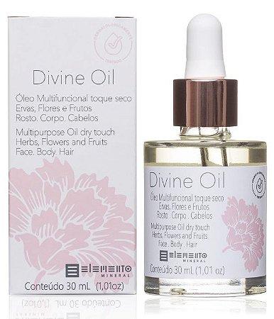 Elemento Mineral Óleo Multifuncional Divine Oil Rosto, Corpo e Cabelos 30ml