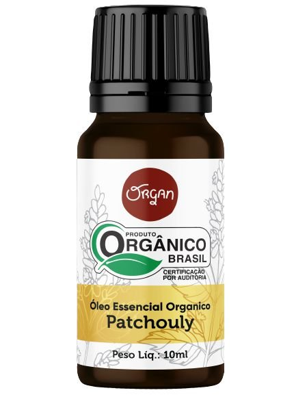 Organ Óleo Essencial de Patchouli Orgânico 10ml