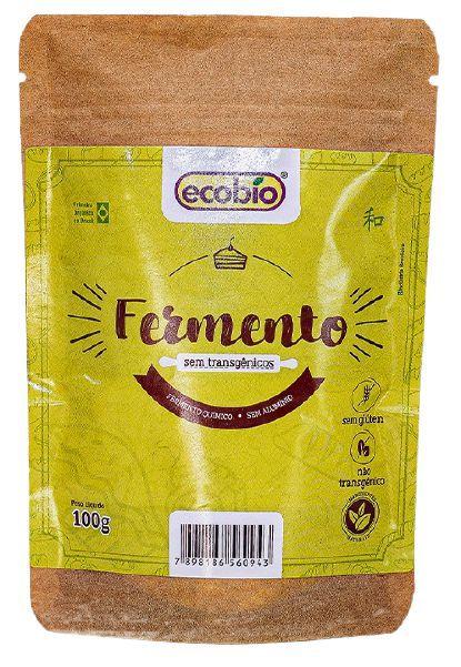 Ecobio Fermento Natural Não Transgênico Para Bolos