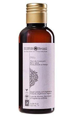 Surya Brasil Sattva Óleo de Massagem Pitta 120ml