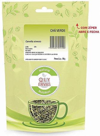 QLY Ervas Chá Verde Fracionado 50g