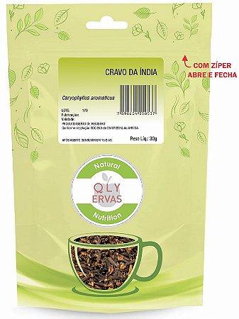 QLY Ervas Chá de Cravo da Índia Fracionado 30g