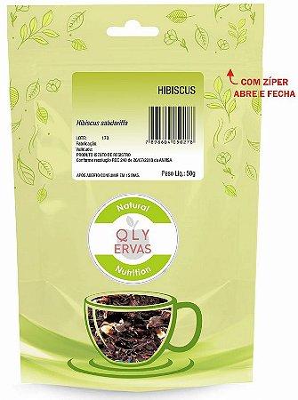 QLY Ervas Chá de Hibisco Fracionado 50g