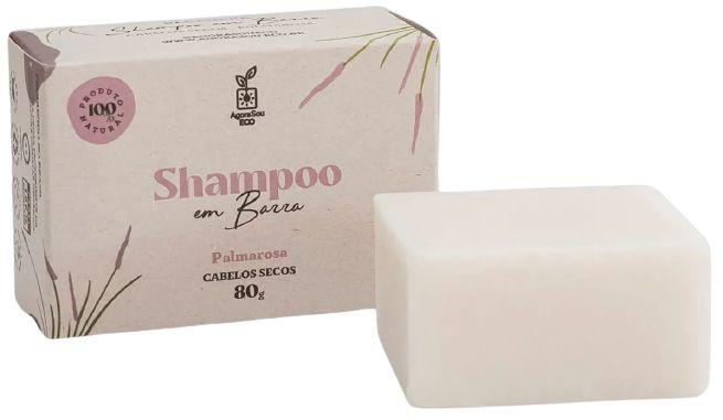 Agora Sou ECO Shampoo em Barra Palmarosa - Cabelos Secos 80g