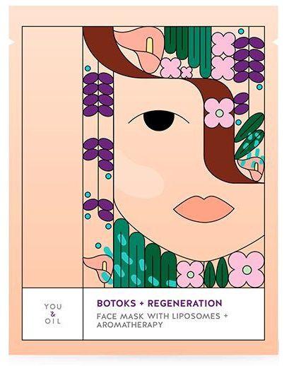 You & Oil Máscara Facial Botox e Regeneração 1un