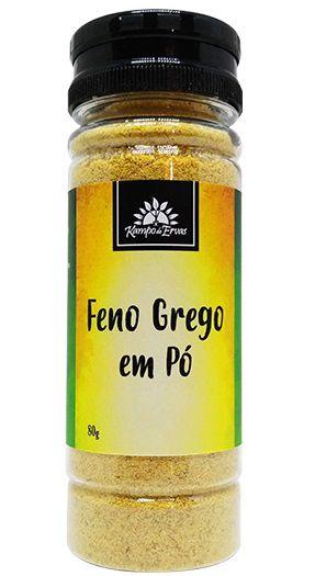 Kampo de Ervas Feno Grego em Pó Condimento Puro 80g