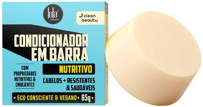 Lola Condicionador em Barra Nutritivo com Babaçu e Amêndoas Doces 65g