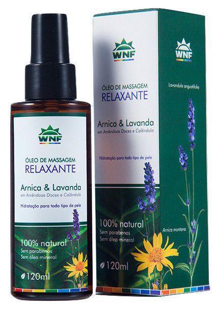 WNF Óleo de Massagem Relaxante Arnica e Lavanda 120ml