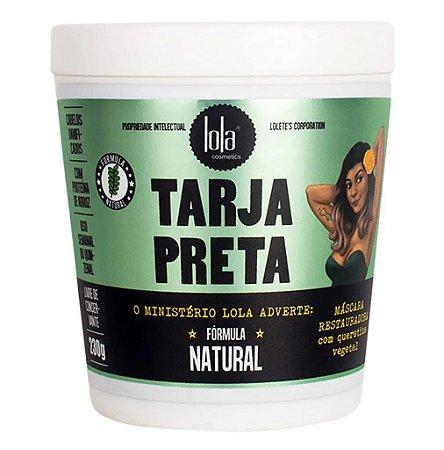 Lola Tarja Preta Máscara Capilar Restauradora com Queratina Vegetal 230g
