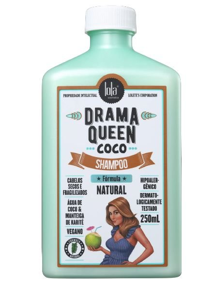 Lola Drama Queen Shampoo Nutritivo com Coco 250ml