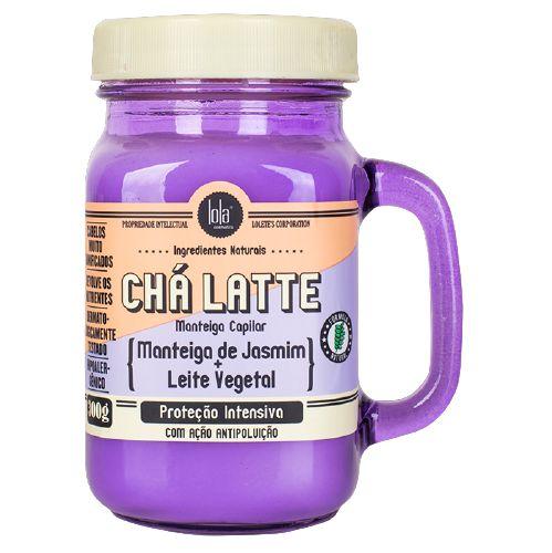 Lola Chá Latte Manteiga Capilar com Jasmim e Leite Vegetal de Coco 300g