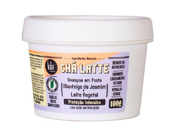 Lola Chá Latte Shampoo em Pasta com Jasmim e Leite Vegetal de Coco 100g