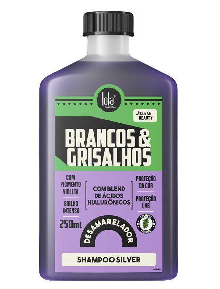Lola Brancos & Grisalhos Shampoo Silver Desamarelador 250ml