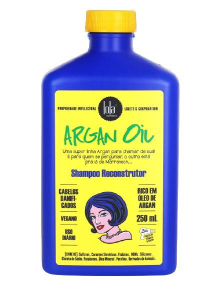 Lola Argan Oil Shampoo Reconstrutor 250ml