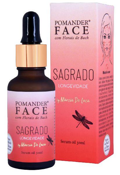Pomander Face Sérum Oil Facial Sagrado Longevidade 30ml