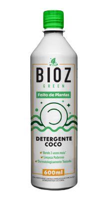 Bioz Green Detergente Ecológico Coco 600ml