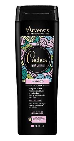 Arvensis Cachos Naturais Shampoo Sem Sulfato