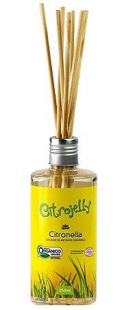 WNF Citrojelly Difusor por Varetas de Citronela Repelente Orgânico