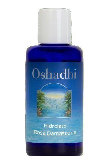 Oshadhi Hidrolato / Água Floral de Rosa (Bulgária) Orgânico 100ml