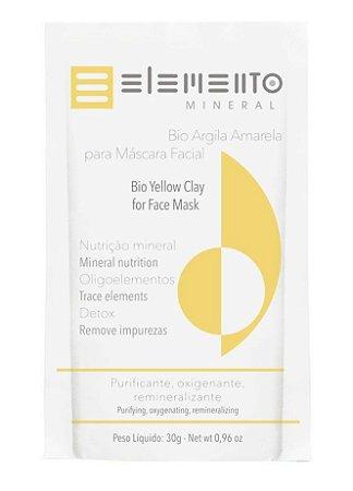 Elemento Mineral Bio Argila Amarela 30g