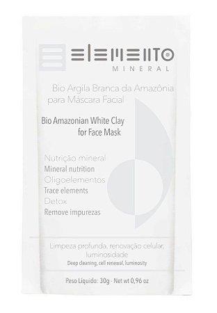 Elemento Mineral Bio Argila Branca da Amazônia 30g
