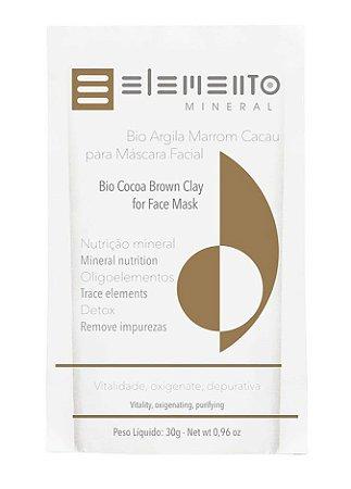 Elemento Mineral Bio Argila Marrom Cacau 30g