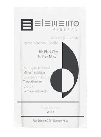 Elemento Mineral Bio Argila Negra 30g