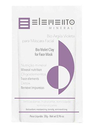 Elemento Mineral Bio Argila Violeta 30g