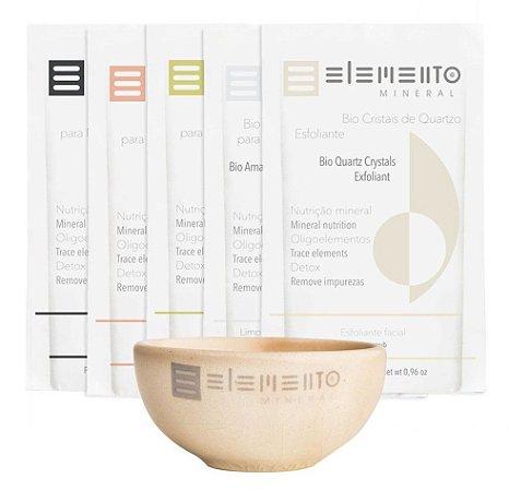 Elemento Mineral Kit Purificante Bio Argilas