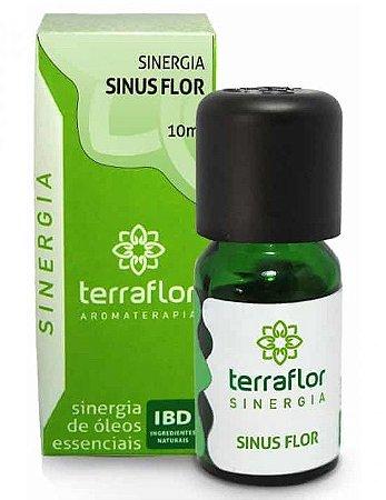 Terra Flor Sinergia Sinus Flor com Óleos Essenciais 10ml