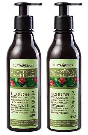 Combo Surya Brasil Amazônia Preciosa Ucuuba Shampoo + Condicionador 300ml