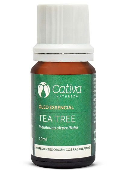 Cativa Natureza Óleo Essencial de Tea Tree 10ml