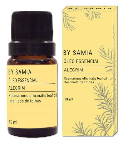 By Samia Óleo Essencial de Alecrim 10ml