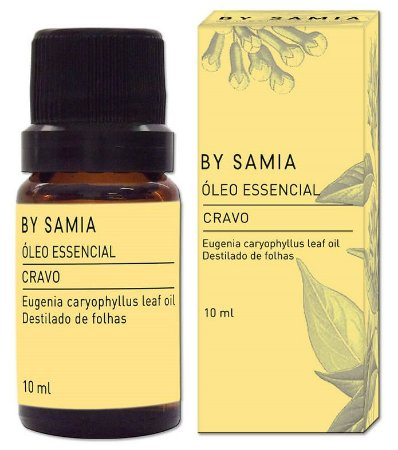 By Samia Óleo Essencial de Cravo 10ml