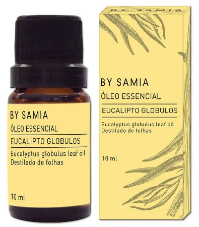By Samia Óleo Essencial de Eucalipto Globulos 10ml
