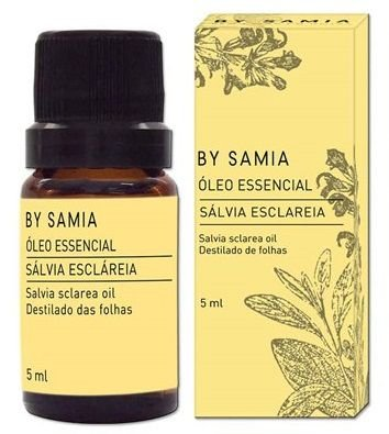 By Samia Óleo Essencial de Sálvia Esclareia 5ml