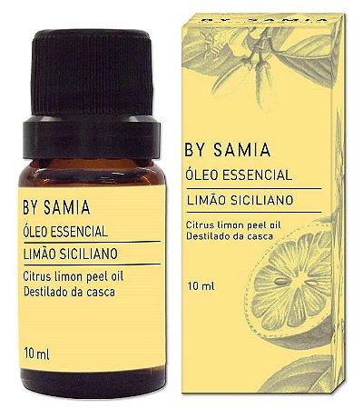 By Samia Óleo Essencial de Limão Siciliano 10ml