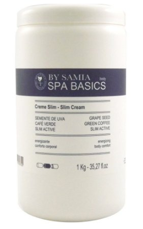By Samia Spa Basic Creme Slim Emagrecedor 1kg