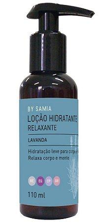 By Samia Relaxante Loção Hidratante Lavanda 110ml