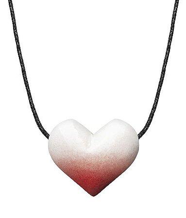 BioEssência Colar Aromatizador Pessoal de Cerâmica Coração 1un