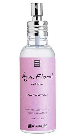 Elemento Mineral Água Floral de Rosas - Bruma Hidratante Facial 120ml