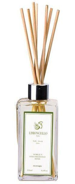 Aromagia World's Fine Fragrance Difusor com Varetas Limoncello 250ml