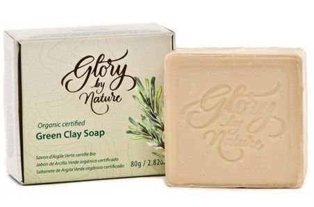 Glory By Nature Sabonete Argila Verde 80g
