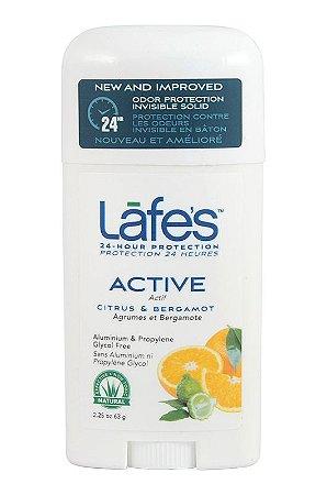 Lafe's Desodorante Twist Active Citrus e Bergamota 63g